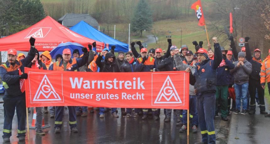 Tarifverhandlungen für die Standorte in Horath und Trier stocken