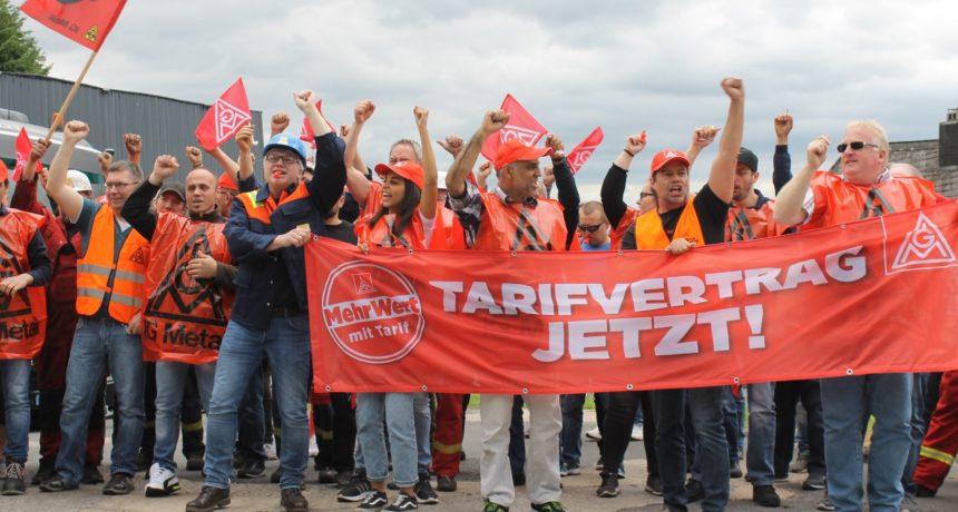 Streiknachrichten #5: RIVA ist am Tisch - Tarifverhandlungen starten