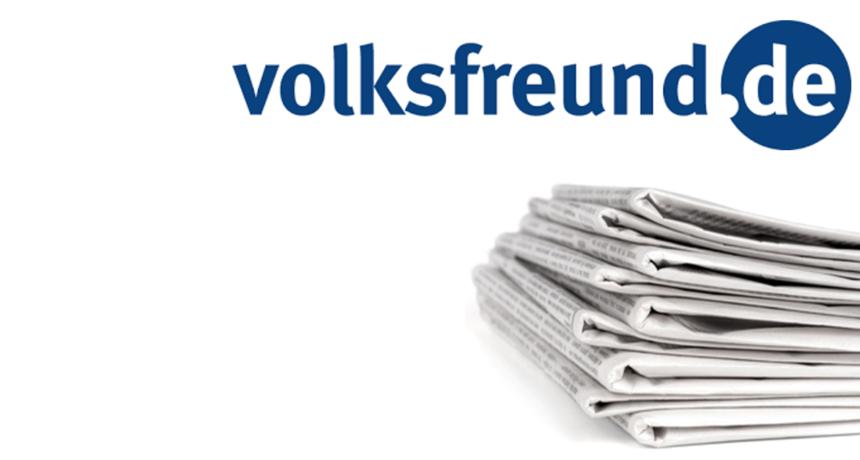 Volksfreund: Streik - Metaller demonstrieren