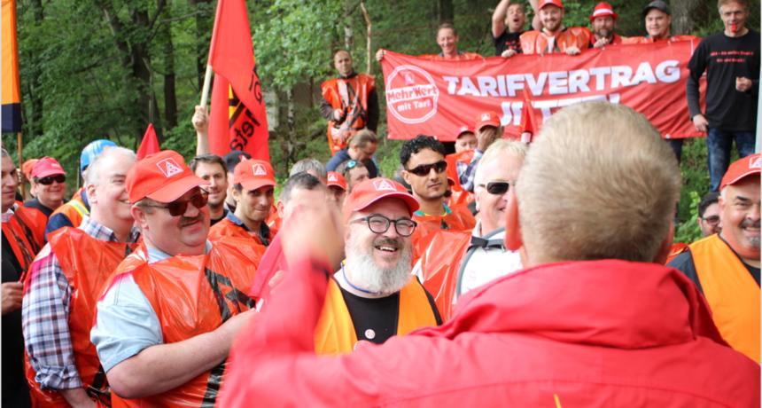 Streiknachrichten #3: Unser Streik steht. Geschlossen und gemeinsam!