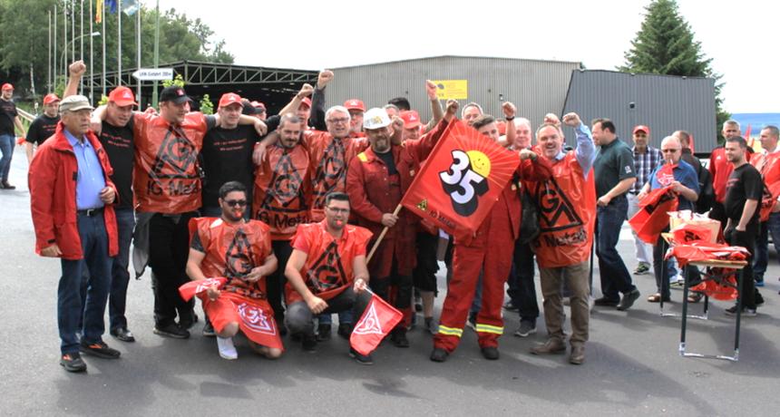 Streik bei Riva-HES in Trier und Horath geht in die zweite Woche