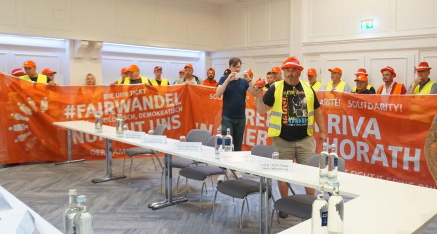 Arbeitgeber gesucht und nicht gefunden - Deutsches RIVA Management schwänzt Tarifverhandlungen