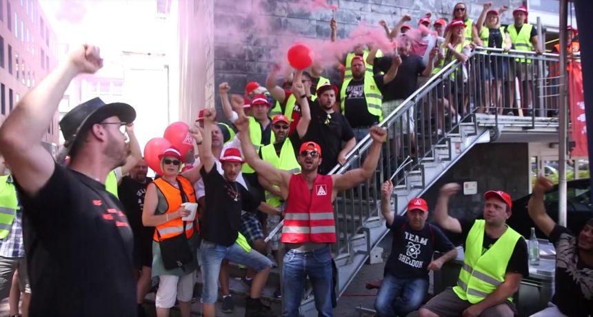 Videoclip: RIVA Tarifverhandlungen wieder ohne Ergebnis - Wir lassen uns nicht für 1 € kaufen!