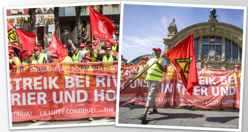 Entscheidende Tarifverhandlung bei Riva - Ein langer Verhandlungstag wird noch länger