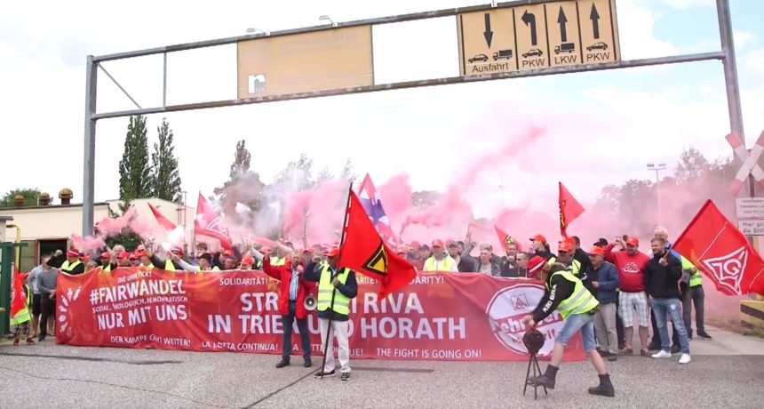 Video: Gemeinsame Aktion von RIVA H.E.S. Trier und Horath und RIVA B.E.S. Brandenburg vor Aufsichtsratssitzung