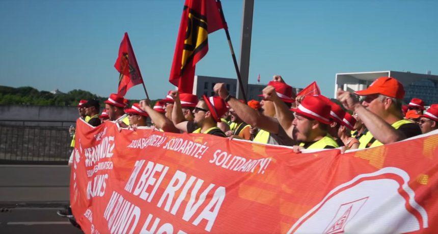 Streiknachrichten #7: Jetzt solidarisch mit den Streikenden von RIVA/H.E.S - Keiner schiebt uns weg!