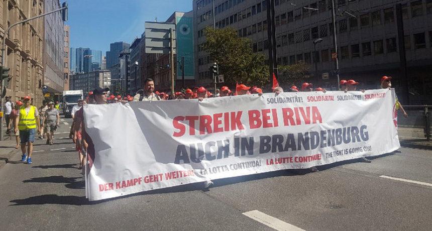 Riva-Geschäftsleitung verweigert Gespräch mit Brandenburger Verhandlungsdelegation