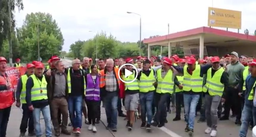 #RIVA B.E.S. Streiklied Brandenburg - Das Lied für den Warnstreik und Arbeitskampf bei RIVA in Brandenburg