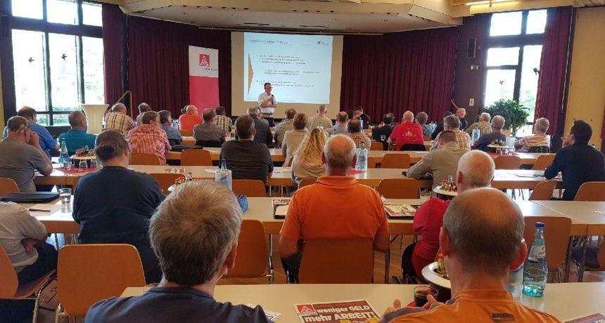 Praktische Solidarität auf dem Betriebsräteforum der IG Metall Mittelhessen