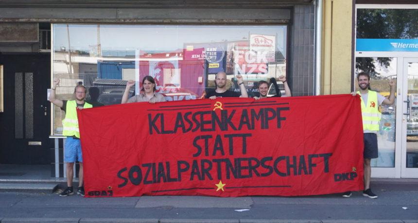 """Solidarität mit den Streikenden aus Trier: """"Viel Kraft und Durchhaltevermögen bei den derzeit stattfinden Streiks"""""""