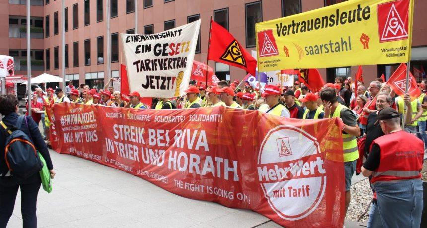 Streik bei RIVA schlägt hohe Wellen in der italienischen Presse