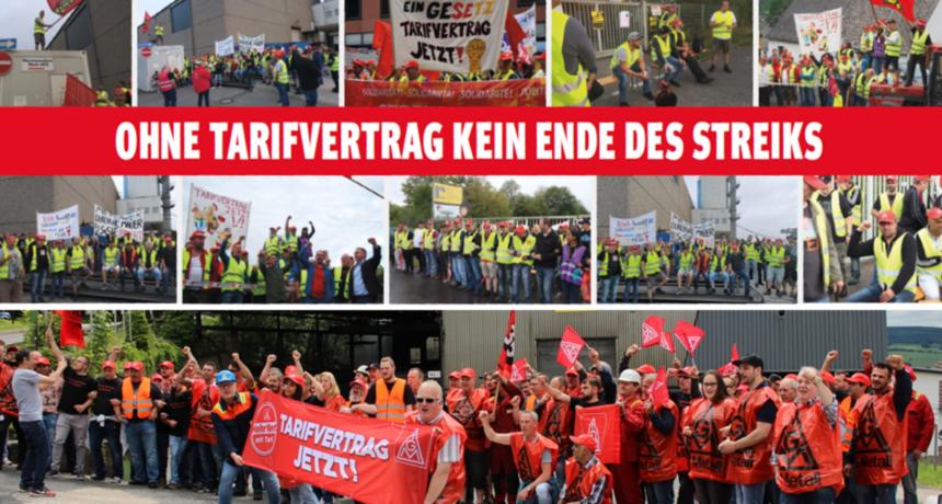 Streiknachrichten #14: Aufruf der Streikenden an alle Metaller*innen