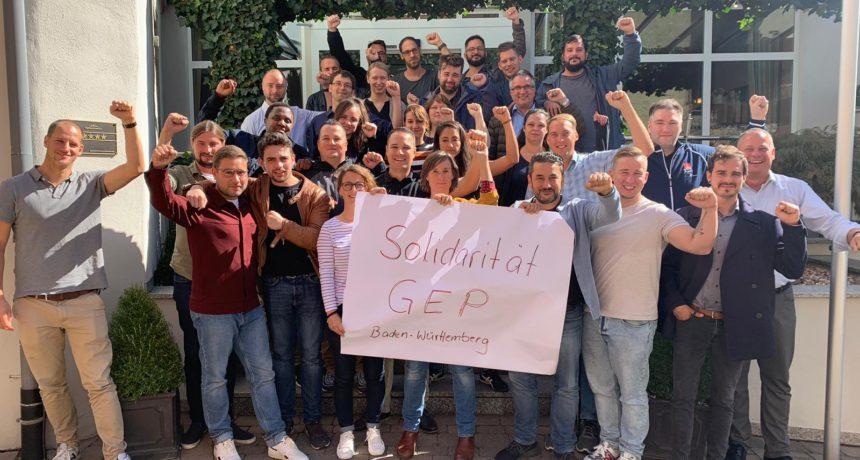 Das GEP BaWü solidarisiert sich mit Eurem Kampf!