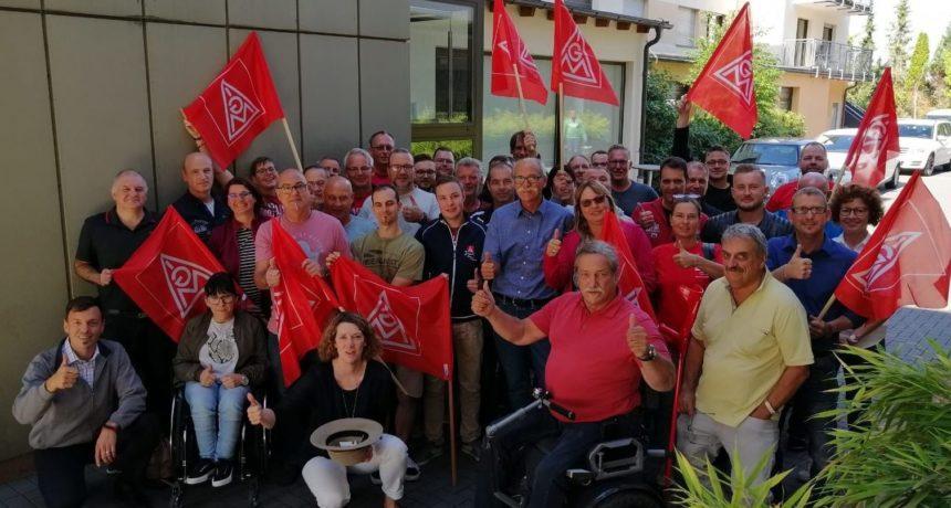 """Solidarische Grüße mit den Worten von Willy Brandt: """"Der beste Weg, die Zukunft vorauszusagen, ist, sie zu gestalten"""""""