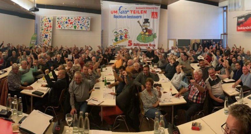 """Delegierte der IGM Salzgitter-Peine: """"Respekt und Anerkennung für eure Durchhaltekraft!"""""""