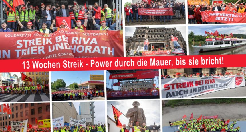 Streiknachrichten #17 – Vorstand der IG Metall beschließt Fortsetzung des Streiks – Tarifverhandlungen können den Konflikt sofort lösen!