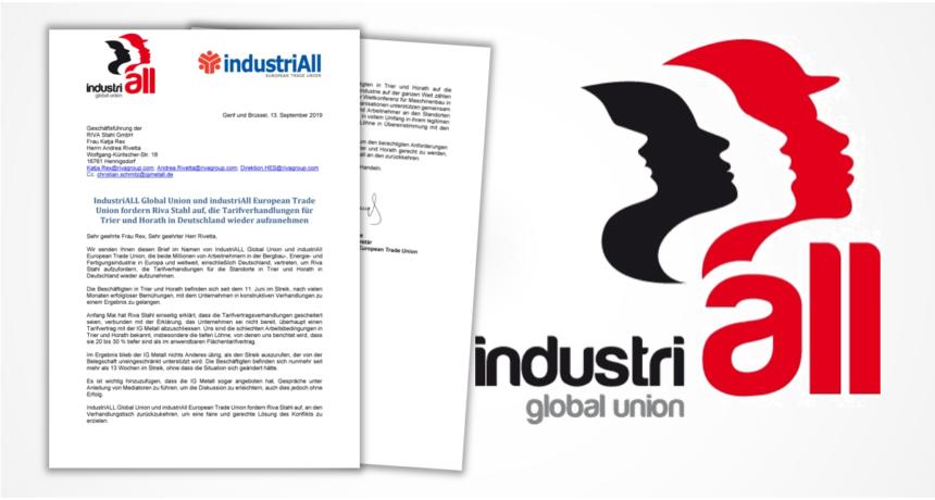 IndustriALL fordert Wiederaufnahme der Verhandlungen von RIVA