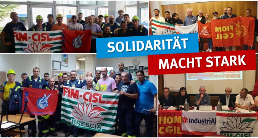Woche der internationalen Solidarität läuft weiter - Solidarität und Aktionen quer durch Europa