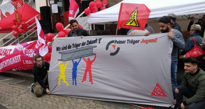 Solidarität von den Kolleginnen und Kollegen der Peiner Träger GmbH