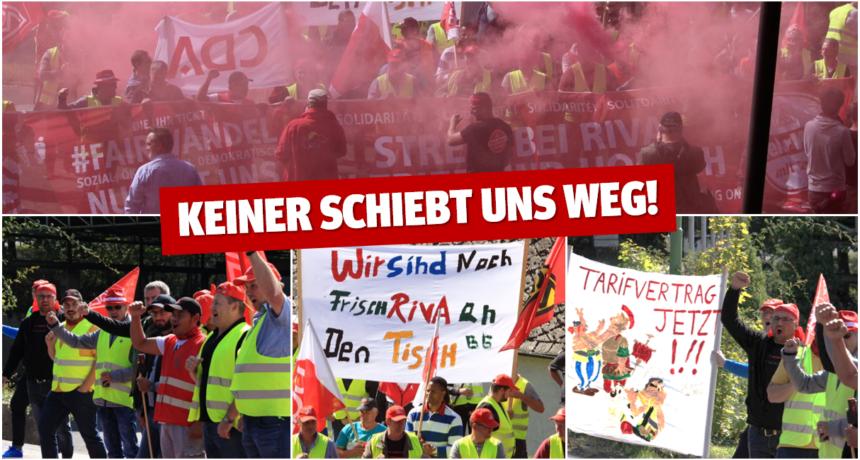 """Streik in Trier und Horath geht in der 18. Woche unvermindert und geschlossen weiter – """"Keiner schiebt uns weg!"""""""