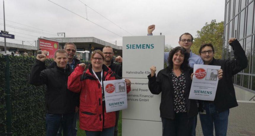 """Solidarität der Kolleg*innen bei Siemens Gas & Power Frankfurt: """"Es scheint immer unmöglich, bis es vollbracht ist"""""""