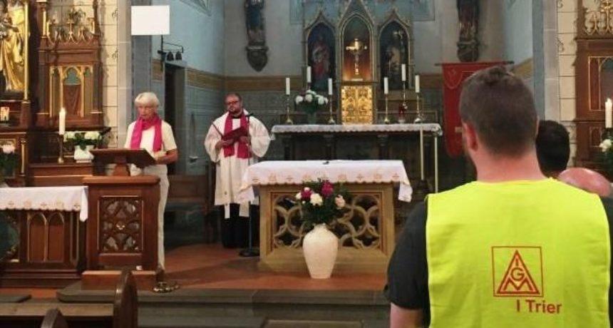 Katholische Arbeitnehmer-Bewegung: EINLADUNG zum STREIK-GOTTESDIENST
