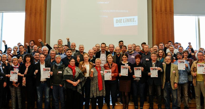 Solidarische Grüße von Berliner Betriebs- und Personalräten und der Fraktion DIE LINKE im Bundestag