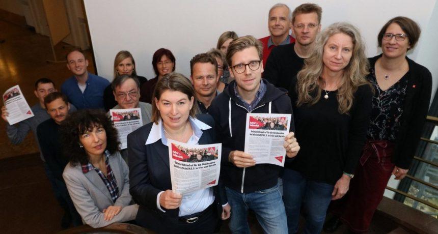 Die, die Mut haben - Solidarität von der IG Metall Berlin