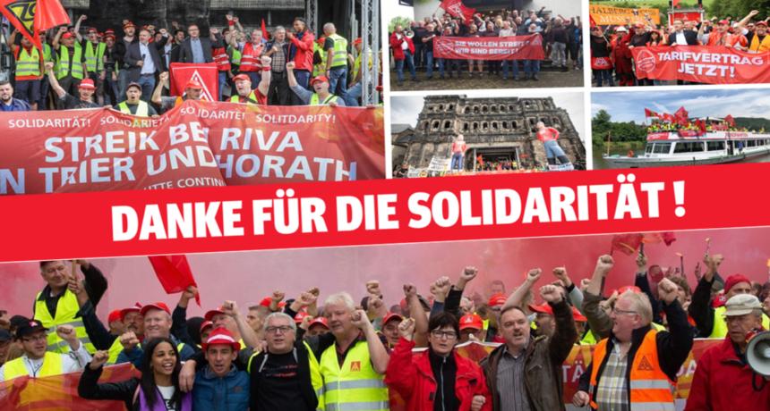 Danke für Eure Solidarität!